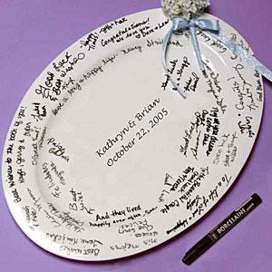 Guestbook Platter