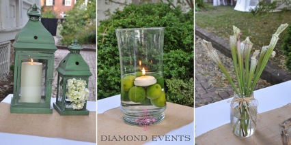 Wedding Welcome Table Details