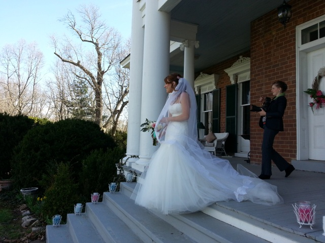 Bride at Rockwood