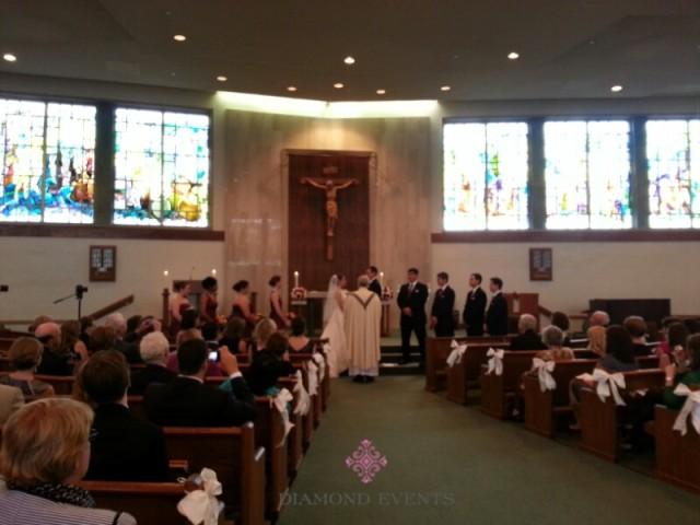St. Charles Borromeo Catholic Church Wedding