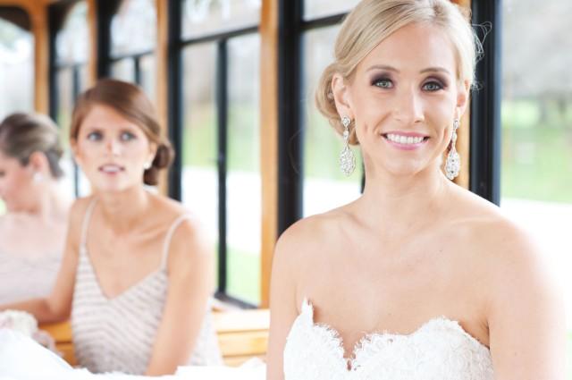 Bride in Trolley