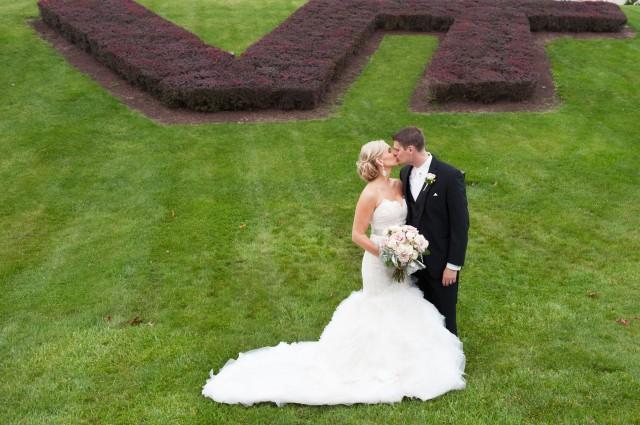 Virginia Tech Wedding