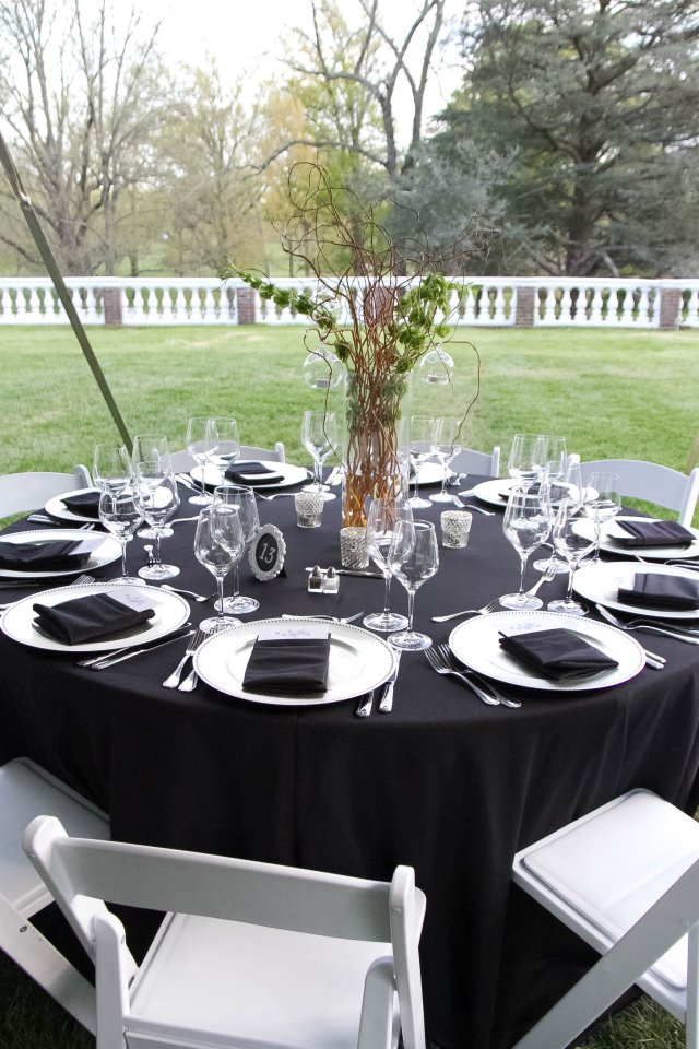 Tented Wedding Reception at Oatlands